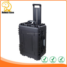 OEM Manufacturer Waterproof Hard Plastic Tool Carrying Case with wheels 647*495*312mm