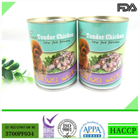 375g Tender Chicken Canned Dog Food in Bulk