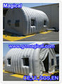 inflatable tunnel tent with clear window