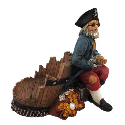 New Product Home Decor Hot Sale Pirate Antique Wine Holder