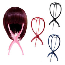 wholesale Wig Stand frame Plastic Hair Holder Stable Display