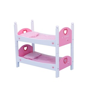 "DB713 Role Play Wooden Wholesale 18"" Doll Furniture With Mattress, Wooden Toy Bed, Cheap Wooden Toy"