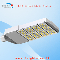 120W High Luminous LED Street Light With Bridgelux Chip for 60mm poles