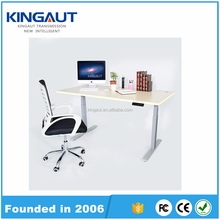 Adjustable Height Anti-collision Modern Round Office Desk