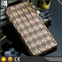 Exquisite Ultra Thin Perfect Electroplating Extra Dot View Case for iphone 5/6 Cover