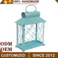 New Products 2016 Wholesale Wrought Iron Candle Lantern