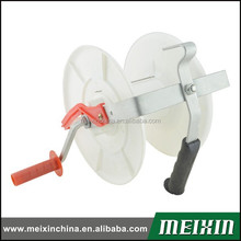 China manufacturer 2015 New products tape and rope electric fence geared strip grazing reel