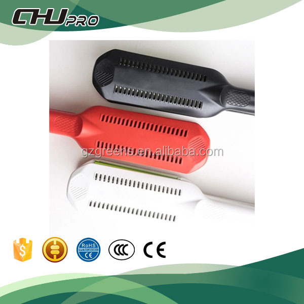 hair straightener with temperature control