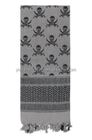 Military Shemagh Tactical Desert Scarf 100% Cotton Keffiyeh Head Wrap