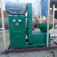 Friendly-environment sawdust and wood briquette charcoal making machine