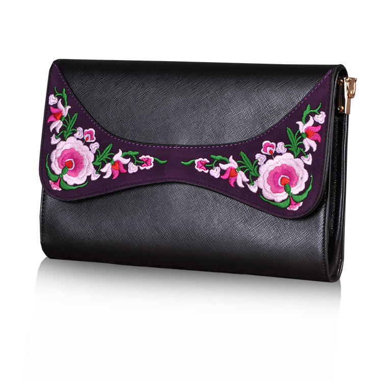 High quality party bag Pu leather bag lovely women clutch bag