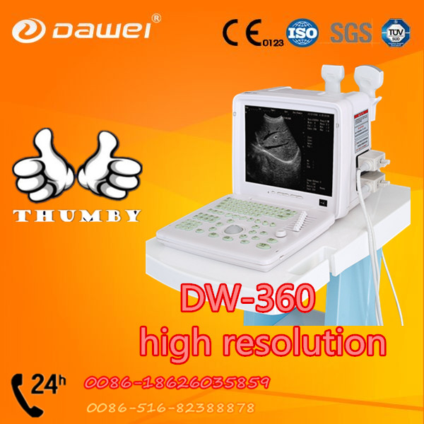 DW-360 medical ultrasound device, ultrasound scanner with two probe ports