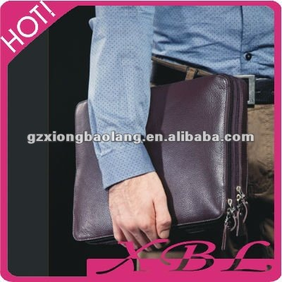 Men's Genuine Leather Messenger Briefcase Laptop Notebook Purse BAG For iPad/2 Case