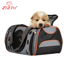 ZYZ PET bag and top quality dog carring bag capsule pet carrier dog in a handbag