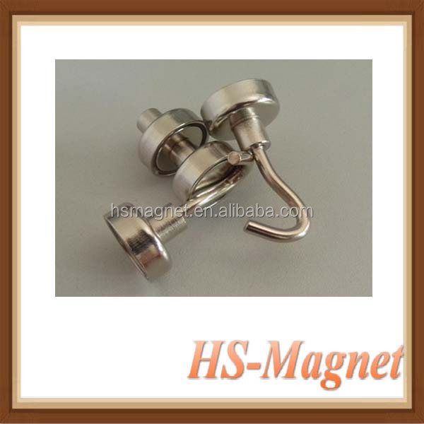 Permanent Strong Quality Hook NdFeB Mangnet