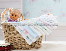 Fine print flat cloth baby diaper cheap for wholesale