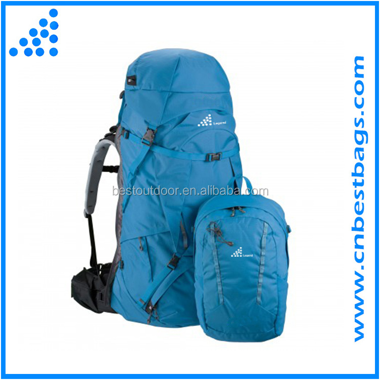 2016 High Quanlity Camping Trekking Back Pack Bag for men and women