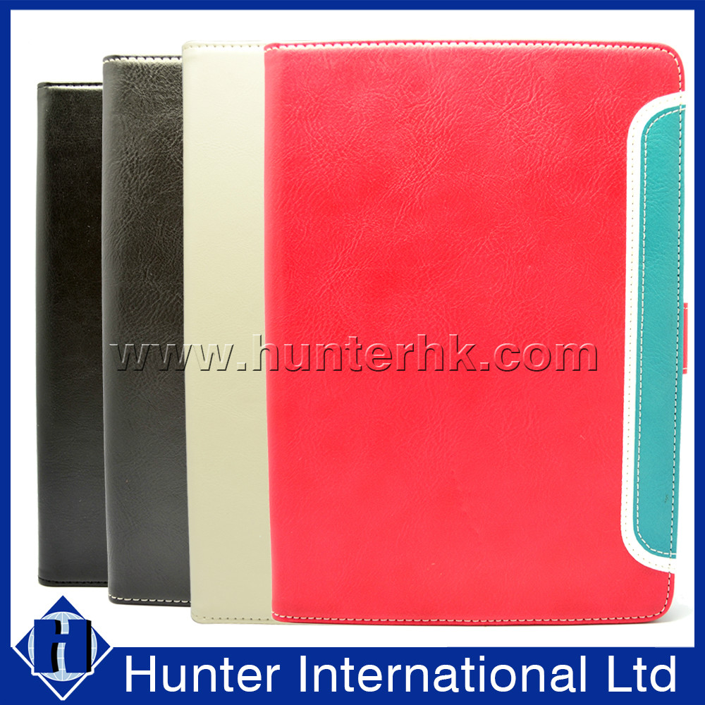 PU Leather Binary Color Tablet Case For iPad Mini 4