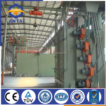 china sale hook type shot blasting machine