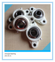 plastic pulley bearing SUCFL207-23 plastic mounting bearing bracket for food machine