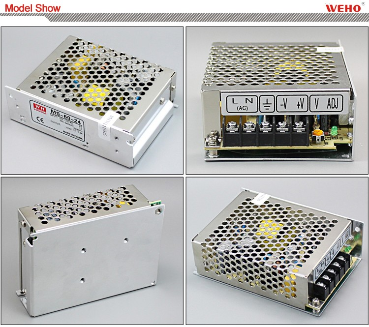 smps mini-size Single output 60w 2.5a power supply 24v