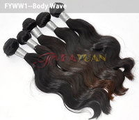 virgin hair raw unprocessed india FAYUAN wholesale 100% virgin remy hair