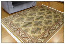 5.5x8 ft Chinese Knot Silk Commerci Carpet Fair Carpet