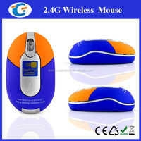 Hot 2.4Ghz mini Optical Wireless Mouse With Logo
