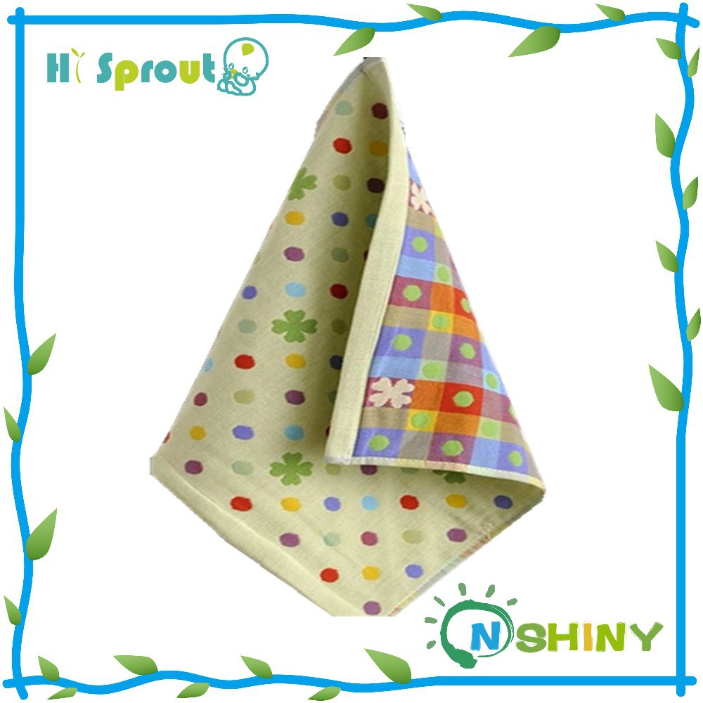 Popular and Nice Design Baby Muslin Face Wipe