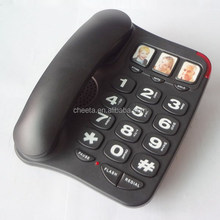 Emergency picture simple SOS Big digit big button telephone for seniors