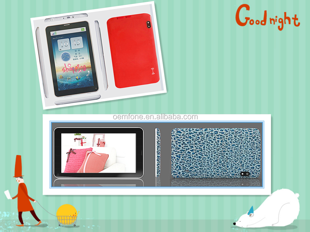tablet pc,7inch capacitive Touch Screen(5 points touch) ,800X480,boxchip A23 1.0GHZ ,android 4.4.0