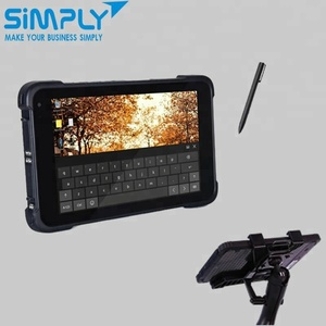7 inch iso 7816 wifi touch screen handheld rugged industrial android tablet pda windows10 with fingerprint scanner reader