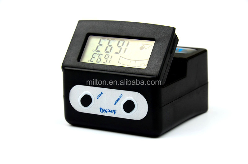 Magnetic Angle Indicator : Digital angle gauge finder tilt with magnetic