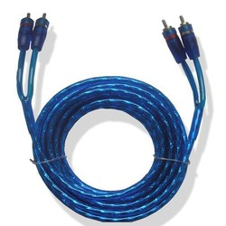 2 RCA OFC Hi-Fi Audio/Video Cable For 2 RCA Cable