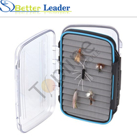 eps fish boxes clear plastic fishing tackle box fishing worm box