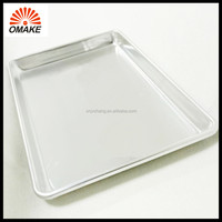 traditional model high quality aluminum baking pans square sheet pan for oven baking