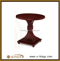Wooden round bar cocktail table