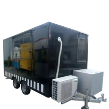 2017 convenient customized mobile deep fryer hot dog food trailer