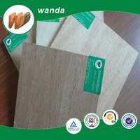 4*8 good quality 3mm okoume plywood for door usage