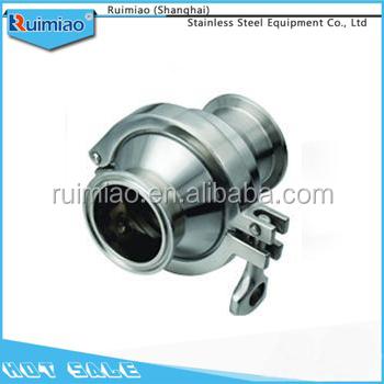 Moutipurpose hot sale sanitary clamp check valve