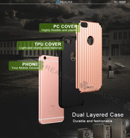 Fashion trolly design for apple iphone 6s pc tpu cover case, 10colors for you option