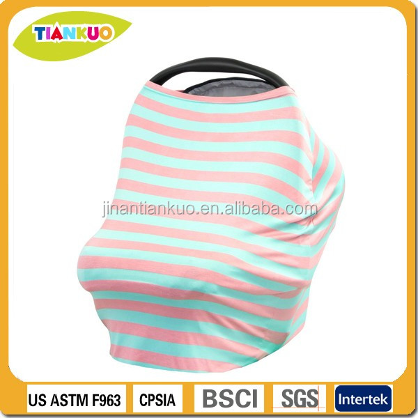 Stretchy nursing cover infant car seat canopy baby car seat cover