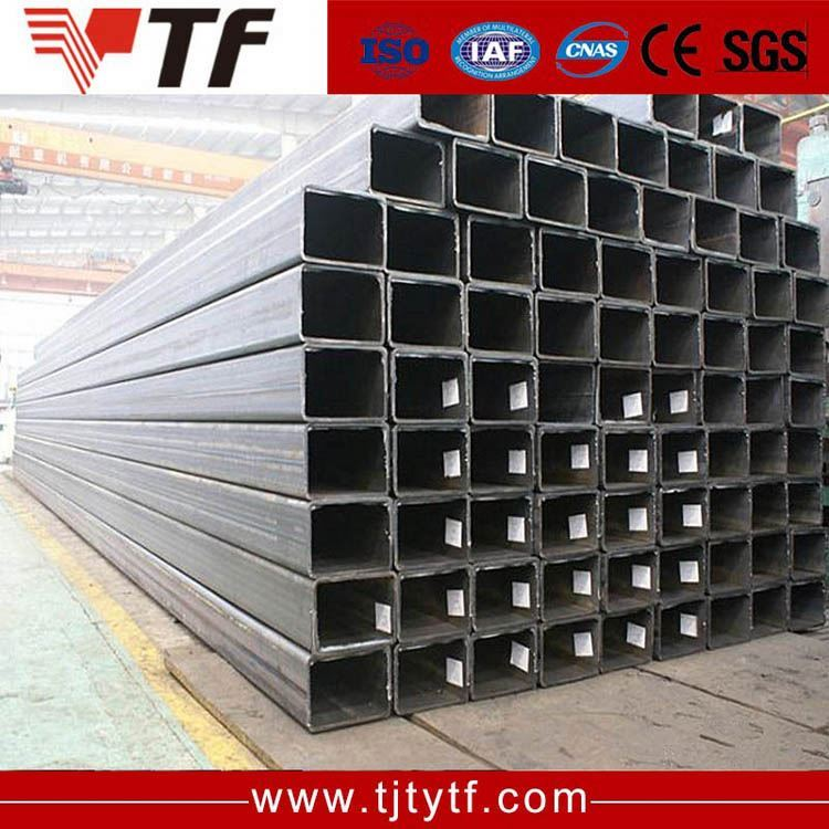 Free samples asian black iron square tube weight