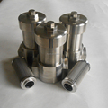 Stainless steel high pressure line filter for hydraulic system