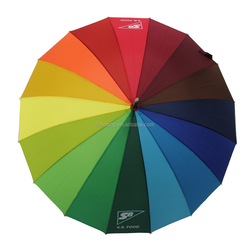 "Promotional China Factory 23""*16K Custom Print Umbrella"