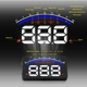 Accessories. Car Electronic Speedometer Windshield Projector 3.5 Inch OBD2 HUD Head Up Display Car