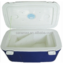 Portable beer cooler box ice box plastic cooler box