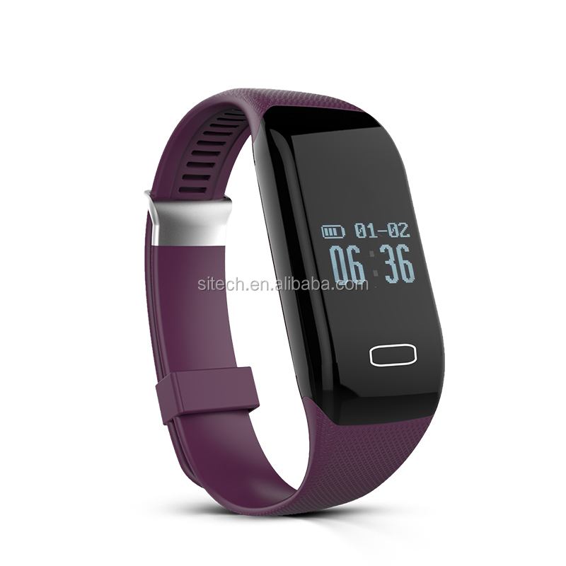 Touch Screen Smart Bracelet Health Sleep Monitoring
