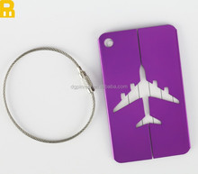Custom airline luggage tags with laser logo