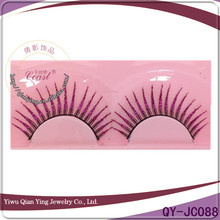 Natural cheap beautiful false synthetic mink lashes belle eyelash